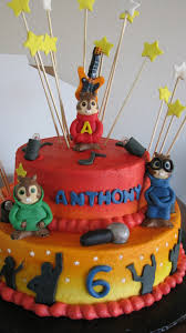 Alvin And The Chipmunks Cake Decorations by Alvin And The Chipmunks Cakecentral Com