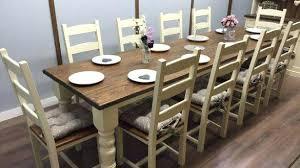 Dining Room Table For 10 Furniture Settings Rh Mercusa Co Large Seats Farmhouse