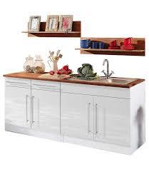 held möbel küchenzeile keitum ohne e geräte breite 200 cm kaufen otto