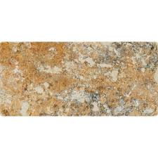 Valencia Scabos Travertine Tile by 3x6 Travertine Tile Natural Stone Tile The Home Depot