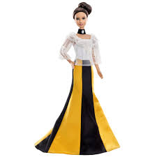 Suzanne Ermann Barbie Doll With Black Sequinned Dress AlexandAlexa