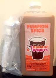 Dunkin Pumpkin Spice Donut by Dunkin Donuts Pumpkin Spice Swirl With Pump See Description First