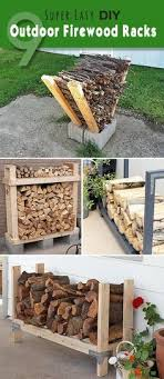 9 Super Easy DIY Outdoor Firewood Racks O Lots Of Ideas Projects And Tutorials