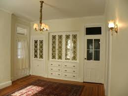 Built In China Cabinet Charming Dining Room Rustic