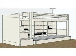chambre avec lit mezzanine 2 places lit lit 2 places mezzanine mezzanine bois chambre plete