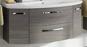 pelipal focus 4010 waschbeckenunterschrank farbe graphit struktur b 140cm