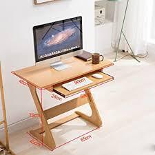 lzz computer schreibtisch massivholz mobile computer