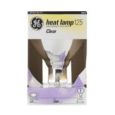 Tractor Supply Heat Lamp by G E 250 Watts Warmup Infrared Heat Lamp Specialty Light Bulbs