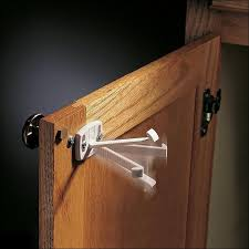 Best Magnetic Locks For Cabinets by Magnetic Cabinet Latch Brown Hillman Company Unmarried Black