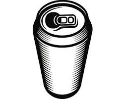Beer Can 3 Bar Pub Tavern Bartender Blank Drink Alcohol Liquor Ale Soda Metal Aluminum