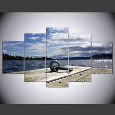 5 panel moderne hd norwegen sommer kunstdruck leinwand kunst wand gerahmte gemälde für wohnzimmer wand bild ny 769