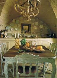 Green Dining Room Table Rustic Belgian French Decorating Plates On Wall Decor Veranda Eclectic Revisited By Maureen Bower