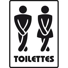 sticker toilettes homme femme stickers et décors