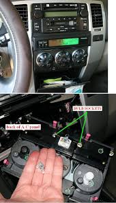 replacement instrument light bulb page 2 toyota 4runner forum