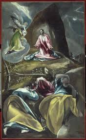 Christ in the Olive Garden c 1600 El Greco WikiArt
