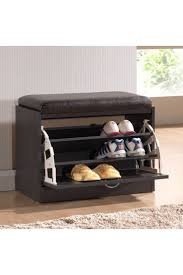 Bench Shoe Storage by Best 25 Shoe Rack With Seat Ideas On Pinterest Entry Storage