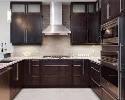 Kitchen Backsplash Ideas For Dark Cabinets by Best 25 Backsplash Dark Cabinets Ideas On Pinterest Dark