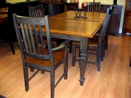 Captain Chairs For Dining Room Table by Apartments Attractive Reclaimed Rustics Distressed Kitchen Table
