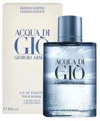 acqua di gio by giorgio armani for eau de toilette 100ml