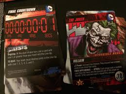 dc comics deck building game crisis expansion review in third