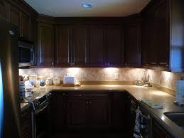 kitchen room design high sky blue led lights cabinet