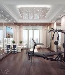 Luxury: Apartment Home Gym - Super Luxurious Apartment In Kiev ... Home Gyms In Any Space Hgtv Interior Awesome Design Pictures Of Gym Decor Room Ideas 40 Private Designs For Men Youtube 10 That Will Inspire You To Sweat Photos Architectural Penthouse Home Gym Designing A Neutral And Bench Design Ideas And Fitness Equipment At Really Make Difference Decor Luxury General Tips The Balancing Functionality With Aesthetics Builpedia Peenmediacom