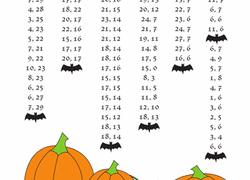 Halloween Multiplication Worksheets Grade 5 by 5th Grade Halloween Worksheets U0026 Free Printables Education Com