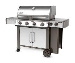 barbecue cuisine weber genesis ii bbq review comparison genesis ii lx