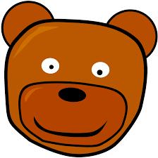 Teddy Bear Clipart Cute Head 15