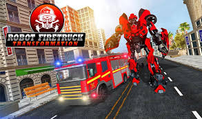 Firefighter Real Robot Rescue Firetruck Simulator For Android - APK ...