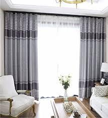 peiwenin schlafzimmer vorhänge modern fertig wohnzimmer vorhänge küche fenster vorhänge single breite 250 cm höhe 260 cm grau
