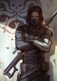 Bucky Barnes The Winter Soldier Fan Art