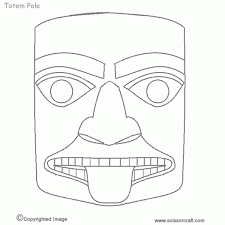 Tribal Tattoo By Saltypuppy On Deviantart Coloring · Crow Drawing Totem Pole Coloriage Totem Pole