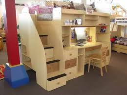 Bunk Bed With Desk Under I Was Just Saying We Should Do This And