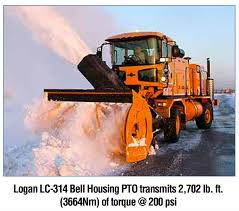 Bell Housing PTO Snow Blowers