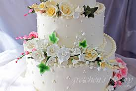 Wedding Cake Frosting Types Best How to Make A Wedding Cake