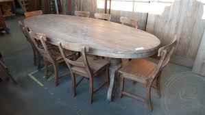 teak tisch oval 300x120cm 8 stühle