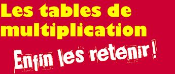 comment apprendre table de multiplication apprendre les tables de multiplication tdahbe
