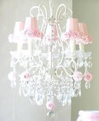 Tissue Paper Chandelier Lamp Shade Enlighten Living Barrel Pink How