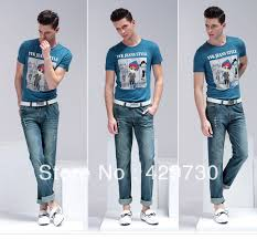 Men S Fashion Clothing Mens Shirts With Jeans