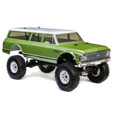 100 1972 Chevy Truck 4x4 Vaterra Suburban AscenderS 110 4WD RTR VTR03094