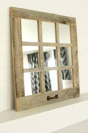 Best 25+ Window Pane Mirror Ideas On Pinterest | Window Mirror ... Barn Board Picture Frames Rustic Charcoal Mirrors Made With Reclaimed Wood Available To Order Size Rustic Wood Countertops Floor Innovative Distressed Western Shop Allen Roth Beveled Wall Mirror At Lowescom 38 Best Works Images On Pinterest Boards Diy Easy Framed Diystinctly Mirror Frame Youtube Bathrooms Design Frame Ideas Bathroom Bath Restoration Hdware Bulletin Driven By Decor