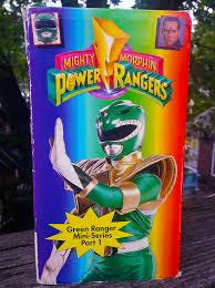 ranger part 1 green ranger mini series part 1 vhs toys collectibles