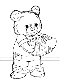 Valentine Coloring Pages Activity Village Images Best Page Free Printable