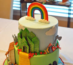Adventures In Cake Decorating by The Bake More Wizard Of Oz Themed Birthday Cake