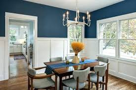 Dining Room Chair Rails Rail Ideas Blue Paint With