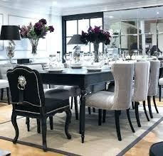 Grey Dining Room Set Black And Stylish Table Decor Best