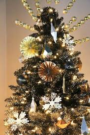 Black Gold Ombre Christmas Tree