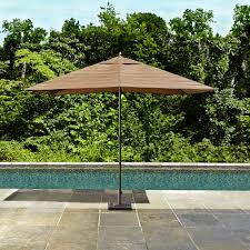 9 Ft Patio Umbrella Frame by Ty Pennington Style Palmetto 9ft X 6ft Rectangle Patio Umbrella