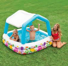 Intex Sun Shade Kiddie Pool 1428 Lowest Price